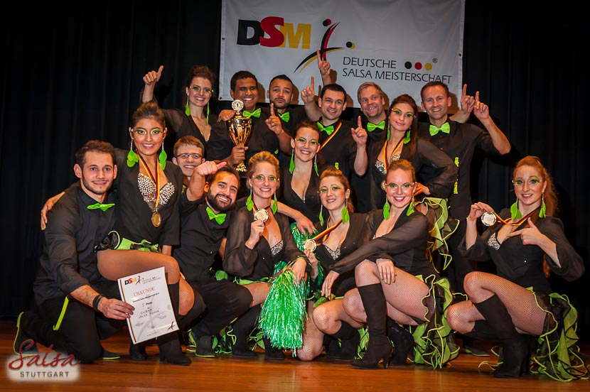 Cuban Salsa Power - Deutsche Rueda de Casino Meister 2013 (LTKV)